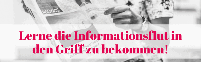 Banner Speed-Reading & Informationsflut bewältigen